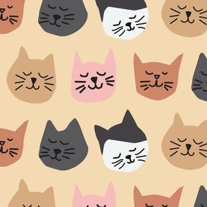 Uppity Cats - large