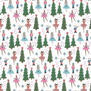 Nutcracker Christmas Ballet mini