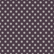 Vintage Polka Dots, purple shades