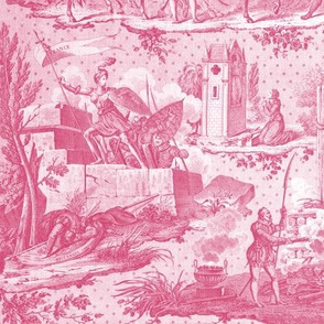 Jeanne d'Arc Toile  ~ Dolores and White
