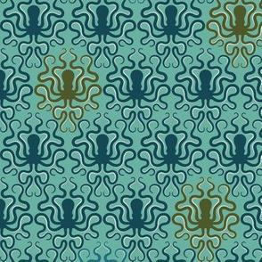 Victorian Octopus - Multi