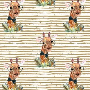 "4"" Boy Giraffe with Sand Stripes"