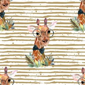 "8"" Boy Giraffe with Sand Stripes"
