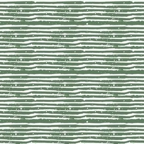 "4"" Green with White Stripes"
