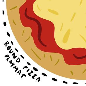 Round Pizza Playmat