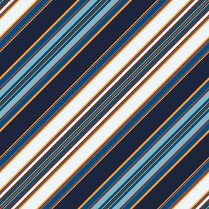 Boot Edge Edge Diagonal Stripe