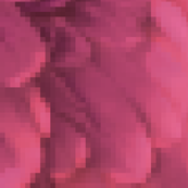 feathers pixelated-pink