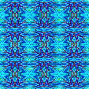 Blue Shimmer Stars
