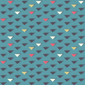 Abstract Retro Triangles