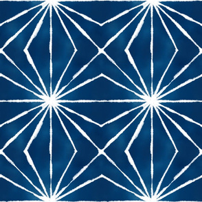 Shibori white lines