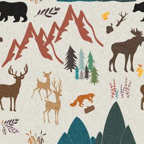 ivory woodland theme