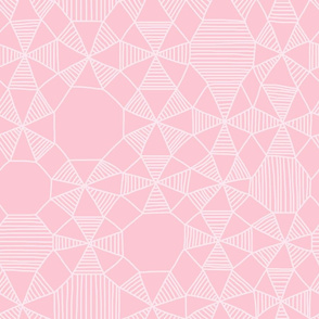 Abstract Minimalism in Pink