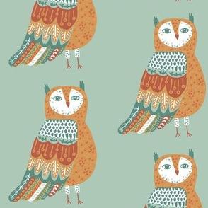 Wise Owl on Sage