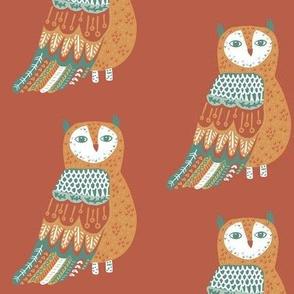 Wise Owl on Rust