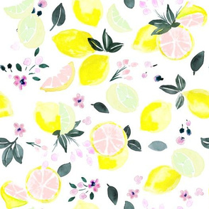 citrus + flowers - pink lemonade