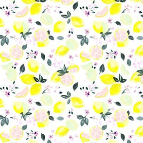 citrus + flowers - pink lemonade S