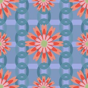 Flower Power Blue-01