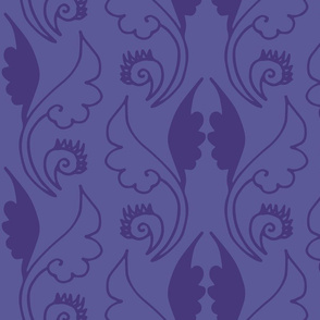 geometric pattern purple-01