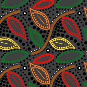 Autumnal Australis (charcoal) - large