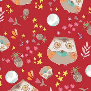 red owl-01