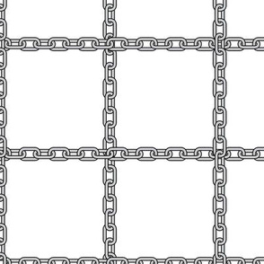 Silver Chain // Squares