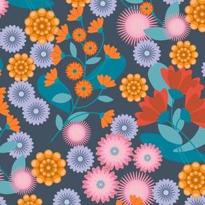 Summer Floral Navy-01