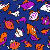 Fish 4x4 Inch Tile