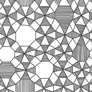 Doodle Geometrics - Large Scale
