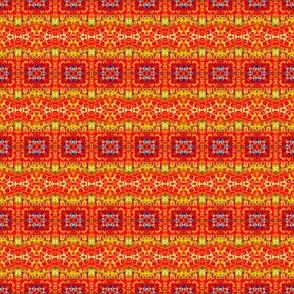 Hot Blocks & Wavy Stripes