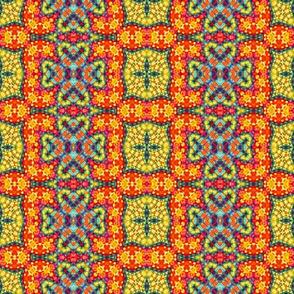 Clover Mosaic Crosses