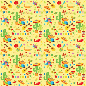 Cinco de Mayo Yellow Small