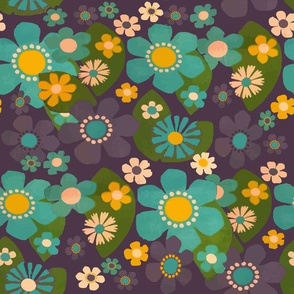 flowerboom retro
