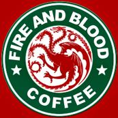 fire and blood coffee-ed