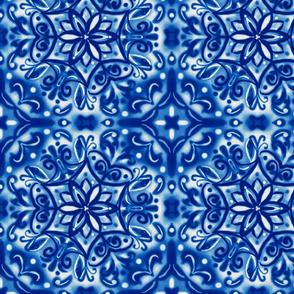 Shibori Snowflake