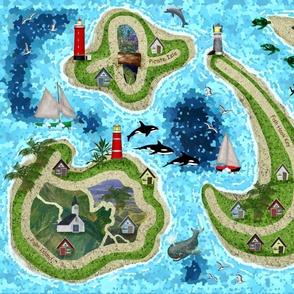 Tropical Islands Play Mat