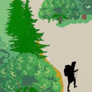 Take a Hike Playmat