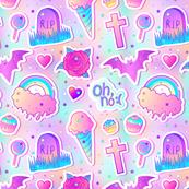 Kawaii Pastel Goth Halloween