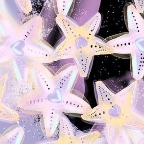 Stary Night Star Fish Kawaii