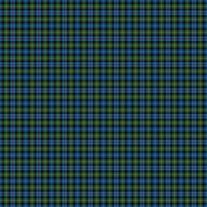 "Mackenzie / Seaforth Highlander tartan, 1"", muted colors (twill lines)"