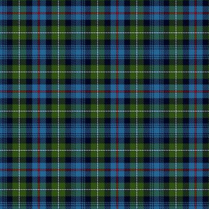 "Mackenzie / Seaforth Highlander tartan, 3"", muted colors (twill lines)"