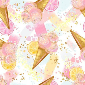 Ice Cream Confetti Party