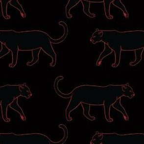 Black Panthers on Black