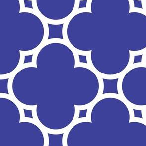 cestlavivid_lattice_4petals_cobalt