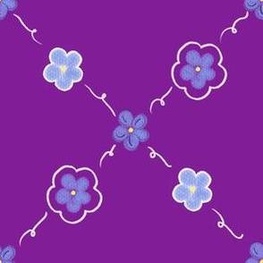 Forget Me Not - Grape