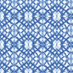 Shibori Blue Lace
