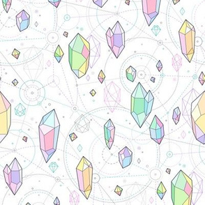 crystals space