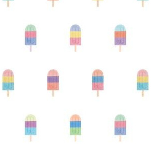 Watercolor ice pops