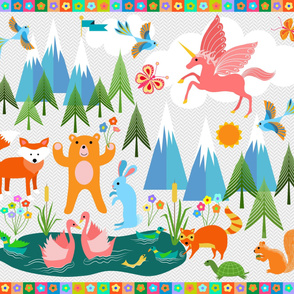 Name the Animals Toddler Playmat