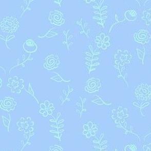 Floral Navettes - Calm