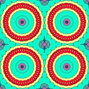 Cody's Art: Cartoonized Kaleidoscope, Lg. Scale, Ver. 1